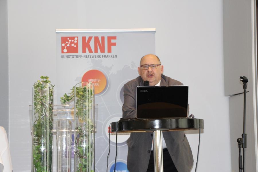Geschäftsführer Hans Rausch stellte die Arbeitskreisleiter vor und blickte auf das vergangene Jahr zurück.