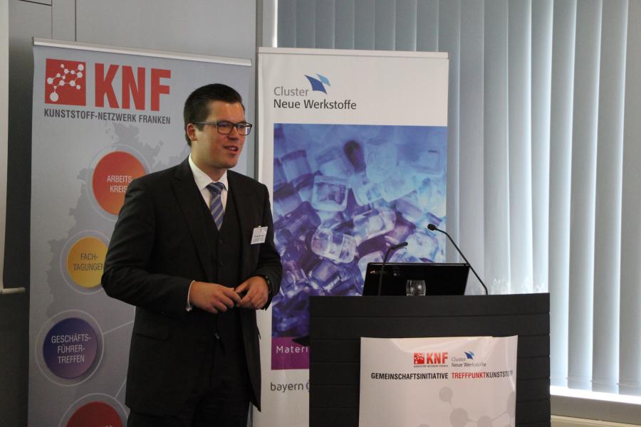 Dipl.-Ing. Thomas Uhlemann vom Fraunhofer IPA referierte über die Bewertung von Produktionsanlagen: von der messtechnikbasierten Datenanalyse bis zu Deep Learning