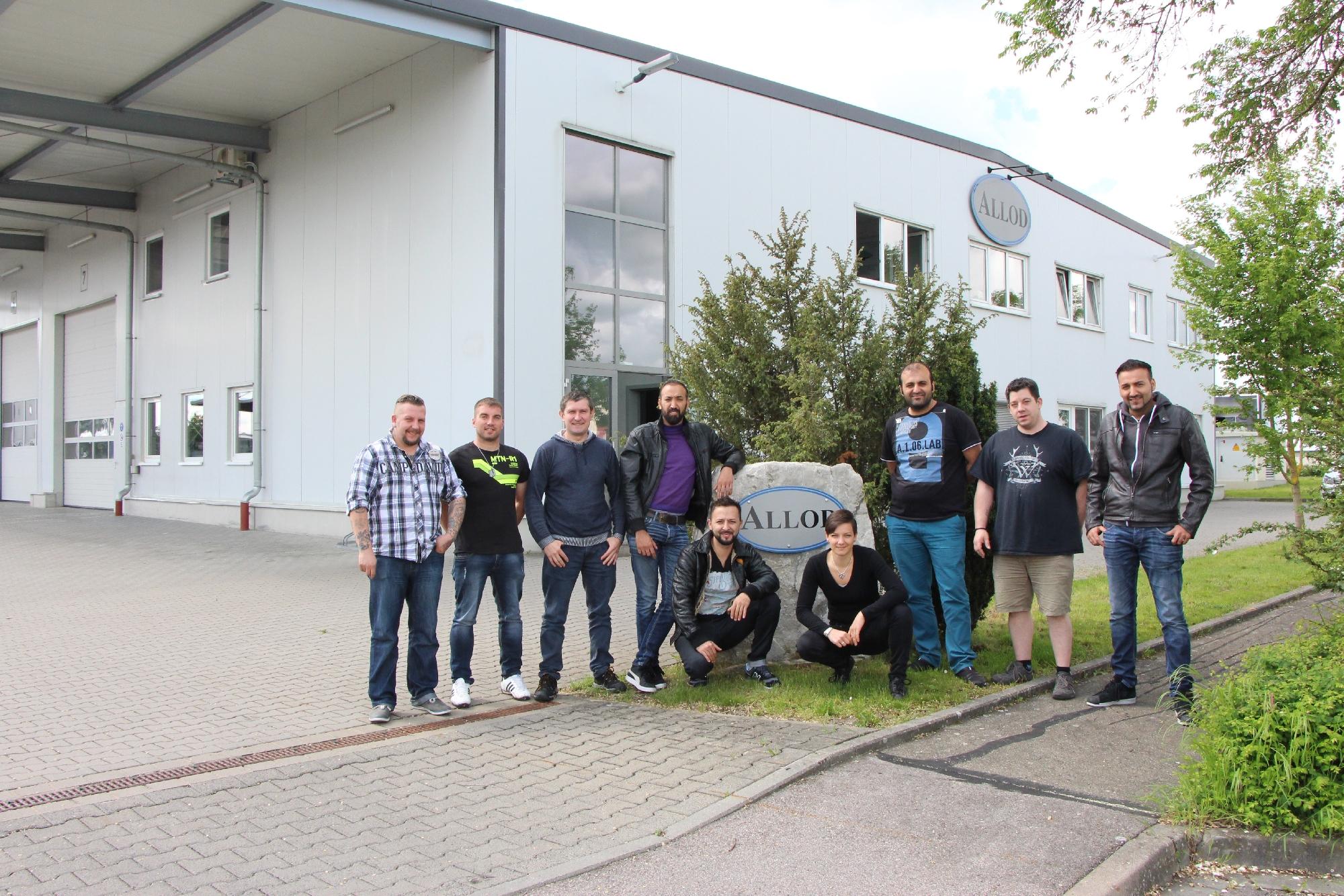 Geprüfte Fachkraft Spritzgieß-Produktion: Seminar Werkstoffe bei Fa. Allod Werkstoff GmbH & Co.KG in Burgbernheim, Mai 2017