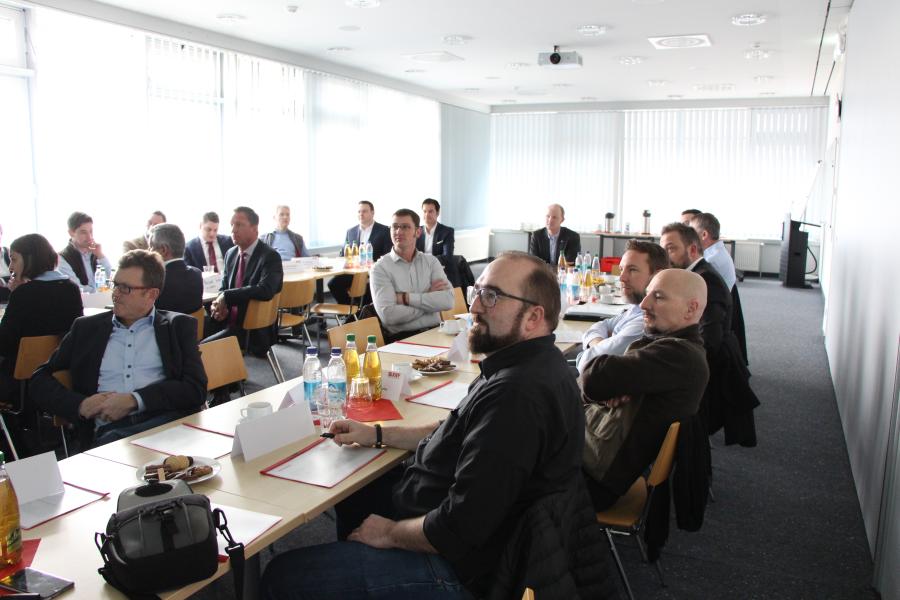 2018-02-07 Treffen auf Geschäftsführer- und Leitungsebene  Bild 2