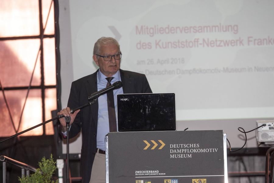 Vorstandsmitglied Jürgen Weitmeier begrüßte die Mitglieder und eröffnete die Mitgliederversammlung