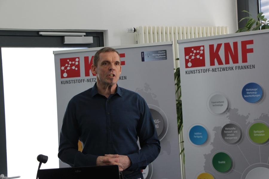 Referent Klaus Eimann, Procter & Gamble Manufacturing GmbH, Marktheidenfeld