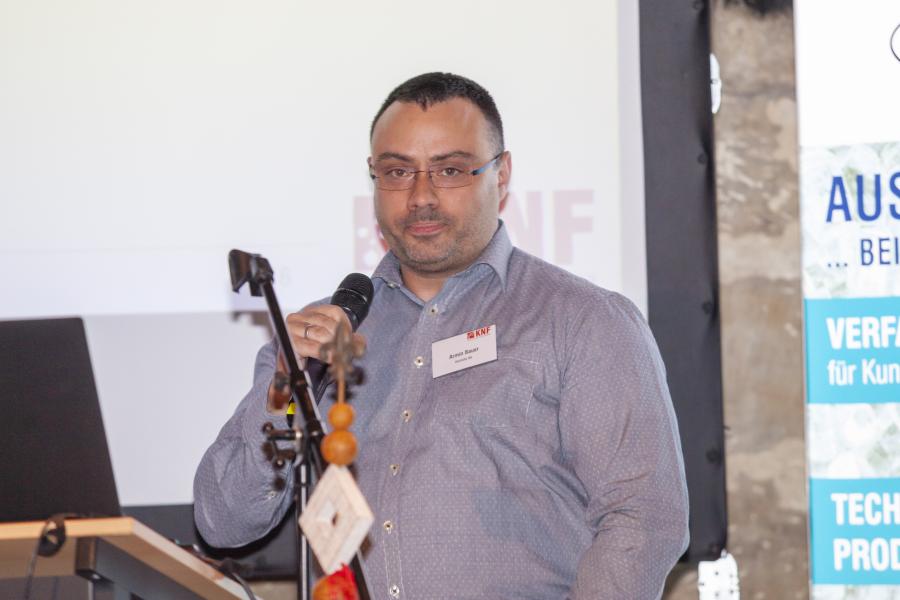 Armin Bauer kandidiert als neuer Vorstand und stellt sich kurz vor