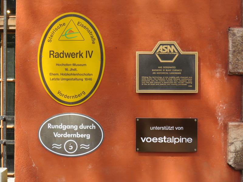 Hochofenmuseums Radwerk IV in Kapfenberg