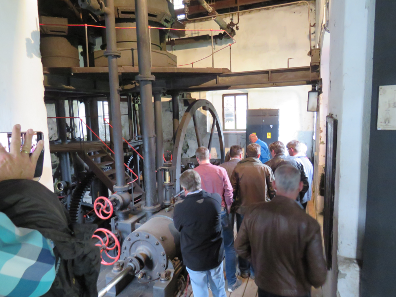 Besichtigung des Hochofenmuseums Radwerk IV in Kapfenberg zum 50. Treffen des Arbeitskreises Werkzeuge