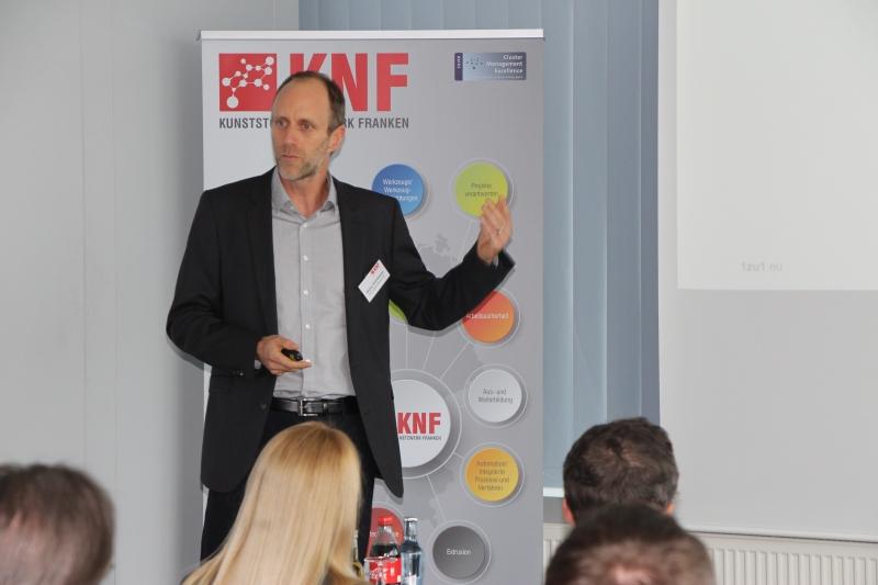Markus Schrittwieser von 1zu1 Prototypen GmbH & Co KG referiert zum Thema AM Anwendungen mit Mehrwert - AM ersetzt Spritzguss