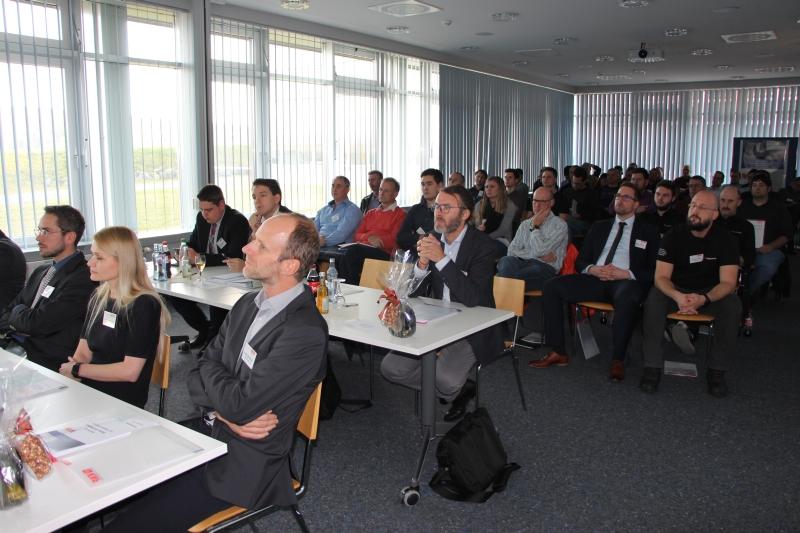 Blick ins Auditorium beim 3D-Forum 2019 vom Kunststoff-Netzwerk Franken e.V.