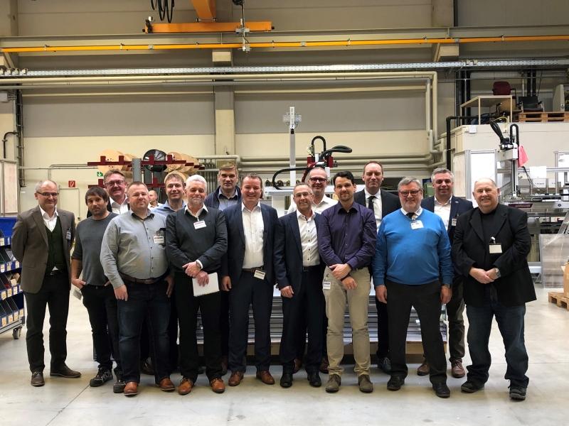Treffen des Arbeitskreises Automation am 06. Februar 2020 bei Wittmann Battenfeld GmbH
